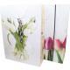 Bolsa de regalo de 34,5x25cm, diseño de tulipán de