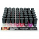 Nail polish Sabrina classic colors on tray 12ml