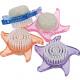 Handwashbrush Elina star with pumice stone 9cm sor