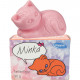 Soap figure kitten Minka 90g with scent
