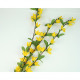 Forsythie 70cm mit 34 Blüten und 15 Blättern