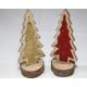 Fa fenyő XL 15,5x6x5cm fatörzsön