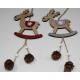 Wooden hanger elk XL 29x9.5cm, 2- times assorted