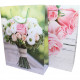 Gift bag 34,5x25cm, bouquet of roses 2-fold sort