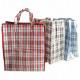 Väska shoppingväska XL 40x45x18cm rutig