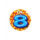 Button klein - ich bin 8