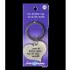 Heart keychain - man