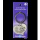 Heart keychain - guardian angel