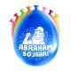Partyballons - Abraham