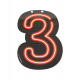 Neonowa litera - 3