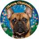 Ablak LED fény Francia bulldog