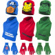 Avengers hat scarf and gloves