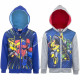 Transformers Hoodie with zipper
