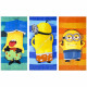 Minions velour beach towel