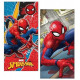 Spiderman toalla de playa microfibra