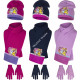 Princess hat scarf and gloves