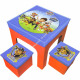 Paw Patrol storage stool and table