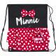 Minnie tornaterem táska 37,5 cm, 3D fülekkel és íj