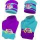 Shimmer and Shine hat and scarf