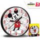 Mickey wall clock 25 cm