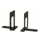 Bookend made of metal, 2 pack