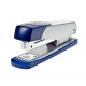 Metal stapler silver / blue for up to 25 sheets