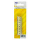 Measuring tape 150 cm (60 inch), yellow