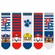 Paw Patrol - Lot de 5 chaussettes pour enfants gar