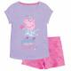 Peppa Pig - Conjunto infantil T-Shirt & Pantal