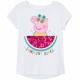 Peppa Pig - Kinder T-Shirt Mädchen weiß